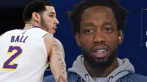 Patrick Beverley Goes IN on Lonzo Ball Calling Him