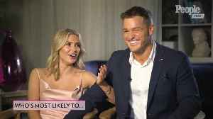 'The Bachelor's' Colton Underwood and Cassie Randolph Play 'Who's Most Likely To?' [Video]