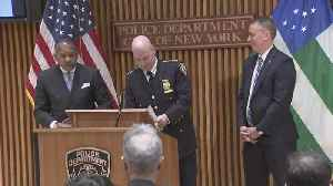 NYPD News Conference On Killing Of Frank Cali [Video]