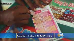 Jumpin' Jackpot! Powerball Prize Soars To $495 Million [Video]