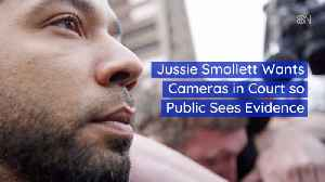 News video: Jussie Smollett Wants To Be Seen In The Courtroom