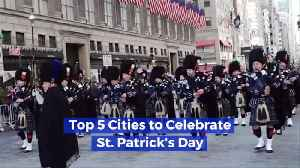 Best Places In The U.S. To Celebrate St. Patrick's Day [Video]