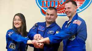 Expedition 59 Crew Lifts Off From Baikonur Cosmodrome [Video]