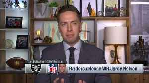 Why did the Oakland Raiders release wide receiver Jordy Nelson? [Video]