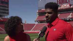 San Francisco 49ers outside linebacker Dee Ford on joining 49ers: 'I can't wait to get to work' [Video]
