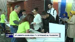 Dearborn students learn real-life money management skills [Video]