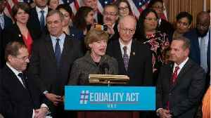 Democrats in Congress just reintroduced a bill that would ban LGBTQ discrimination, and finally, some good news [Video]
