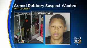 Armed Robbery Suspect Wanted In 2 Incidents [Video]
