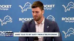 Jesse James 'glad to get away' from Steelers drama [Video]