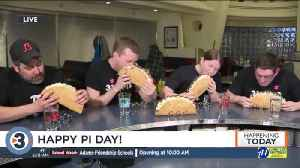 News 3 Now, Hubbard Avenue Diner's annual Pi Day pie eating contest [Video]