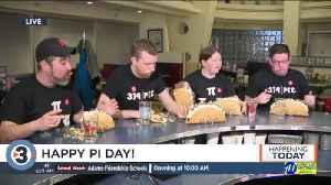 N3N, Hubbard Avenue Diner's annual Pi Day pie eating contest [Video]