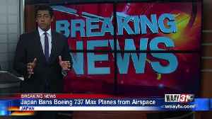 Breaking News Center: Japan Bans Boeing 737 Max Planes [Video]