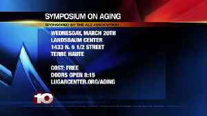 Symposium on Aging, Landsbaum Center Sponsored by the Alzheimer's Association [Video]