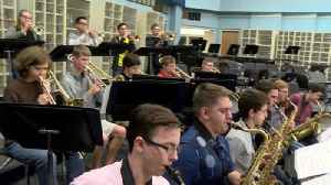 Harrison High School Jazz Band as State Finalists [Video]