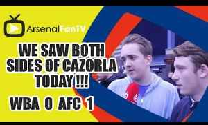 We Saw Both Sides Of Cazorla Today !!! West Brom 0 Arsenal 1 [Video]