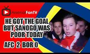 He Got The Goal But Sanogo Was Poor Today Says Fan || Arsenal 2 Borussia Dortmund 0 [Video]