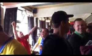 Arsenal fans before Norwich match [Video]