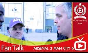 Arsenal 3 Man City 6 - Today Was Embarrassing [Video]