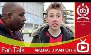 Arsenal 3 Man City 6 - We Won't Win The League [Video]