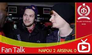 Arsenal 0 Napoli 2 - We Should Have Bought On Theo Walcott [Video]