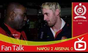 Arsenal 0 Napoli 2 - If We Can Beat Man City The Premiership Will Be Ours [Video]