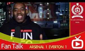 Arsenal 1 Everton 1 - Robbies Highlights From The Stadium - ArsenalFanTV.com [Video]