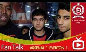Arsenal FC 1 Everton 1 - We Will Be Judged When We Play Man City [Video]