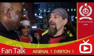 Arsenal FC  Everton 1 - It's Up To The Others To Catch Us says Bully [Video]