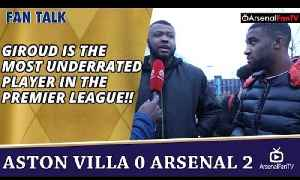 Giroud Is The Most Underrated Player In The Premier League!! | Aston Villa 0 Arsenal 2 [Video]