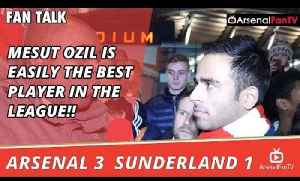 Mesut Ozil Is Easily The Best Player In The League!! | Arsenal 3 Sunderland 1 [Video]