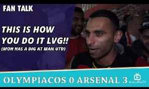 This Is How You Do It LVG!! (Moh Has a Dig at Man Utd)  | Olympiacos 0 Arsenal 3 [Video]