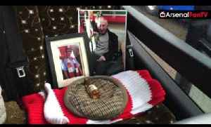 Arsenal Fans Classy Tribute Today To Ernie Crouch | Aston Villa 0 Arsenal 2 [Video]