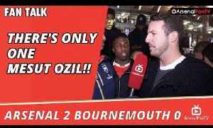 There's Only One Mesut Ozil!! | Arsenal 2 Bournemouth 0 [Video]