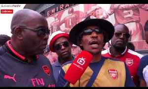 Fan Has Reggae Lyrics Dedicated To Arsene Wenger! | Arsenal 4-1 West Ham [Video]