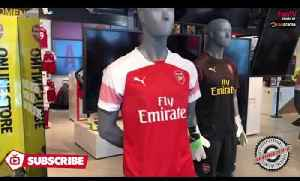 The Brand New 2018/19 Arsenal Home Kit Up Close! [Video]