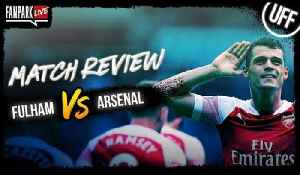 Fulham 1-5 Arsenal - Goal Review - FanPark Live [Video]