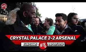 News video: Crystal Palace 2-2 Arsenal | It Was The Right Decision To Take Off Ozil! (Afzal)