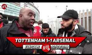 Tottenham 1-1 Arsenal | Aubameyang Keep Your Head Up & Chest Out!! (Moh) [Video]