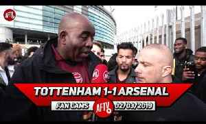 Tottenham 1-1 Arsenal | Emery Got His Tactics Wrong Today! (Sonny) [Video]