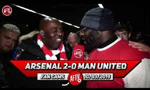Arsenal 2-0 Man United | Mesut Ozil Worked His Socks Off! (Kenny Ken) [Video]