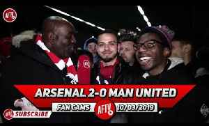 Arsenal 2-0 Man United | Xhaka & Ramsey Bossed The Midfield! (American Gooners) [Video]