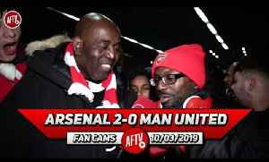 Arsenal 2-0 Man United | Ty Goes In On 'Arrogant' Man United Fans [Video]