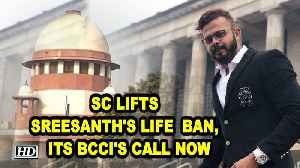 SC lifts Sreesanth's life ban, its BCCI's call now [Video]