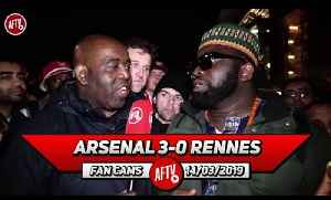 Arsenal 3-0 Rennes | Aubameyang  Is A Balla! (Kelechi) [Video]