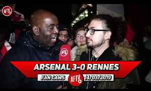Arsenal 3-0 Rennes | Our Only Competition Now Are Napoli & Chelsea [Video]