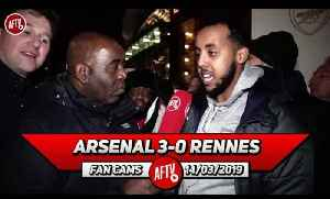 Arsenal 3-0 Rennes | The Team Spirit Is Better Than I've Ever Seen! [Video]