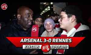 Arsenal 3-0 Rennes | It's Disgraceful That So Many Fans Left Early (Jack) [Video]