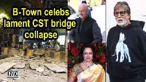 #MumbaiBridgeCollapse |  B-Town celebs lament CST bridge collapse [Video]