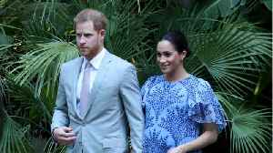News video: Meghan Markle And Prince Harry Moving To New Royal Residence