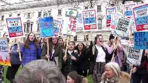 London students join international strike for action on climate change [Video]